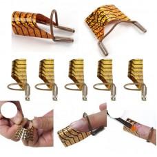 Многократни форми за изграждане на ноктопластика-5бр.