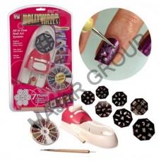 Комплект машинка за печати на нокти